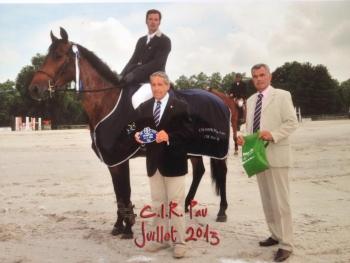 CIR de PAU du 22 au 24 juillet et bilan de la saison jeunes chevaux