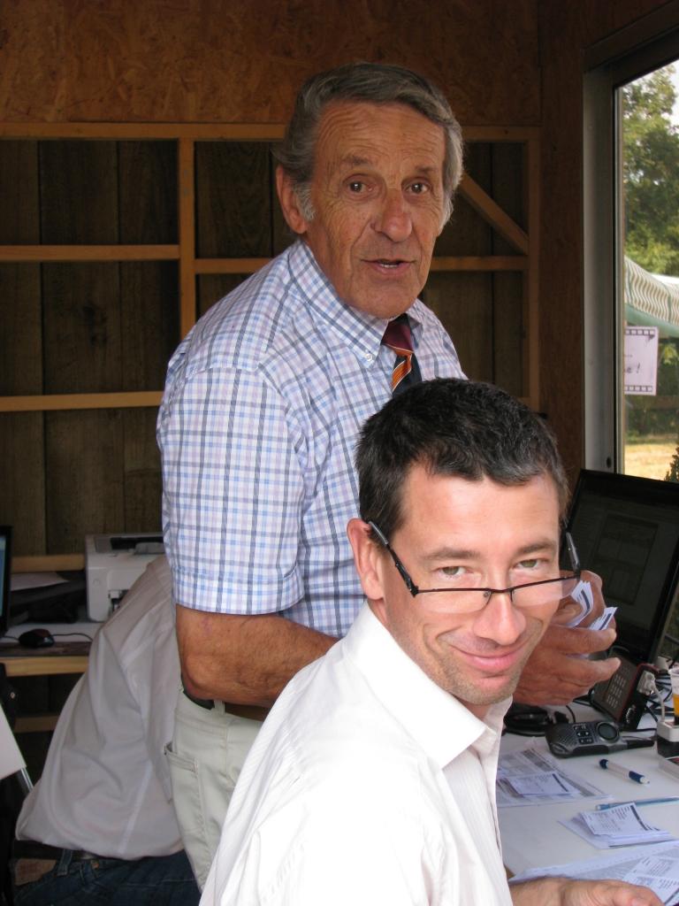 Stéphane Badet et Michel Casas