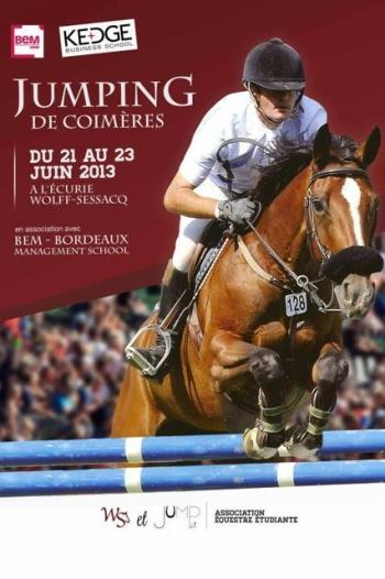 Jumping de Coimeres 21 au 23 juin 2013